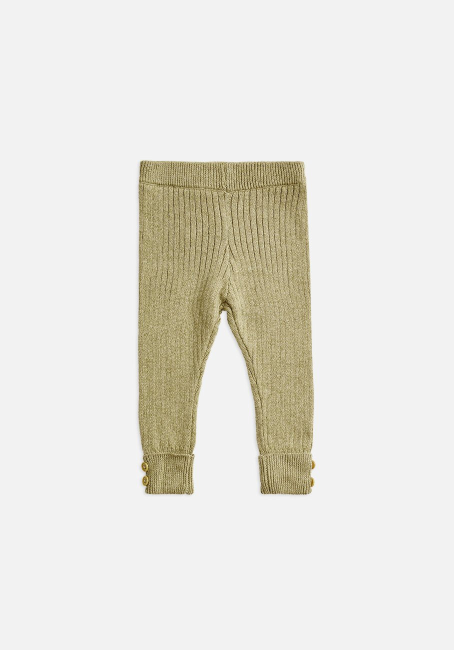 Miann & Co Baby - Texture Rib Legging - Forest