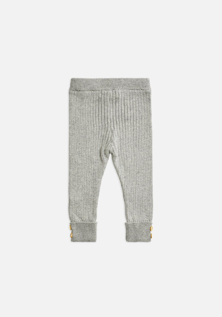 Miann & Co Kids - Texture Rib Legging - Dove