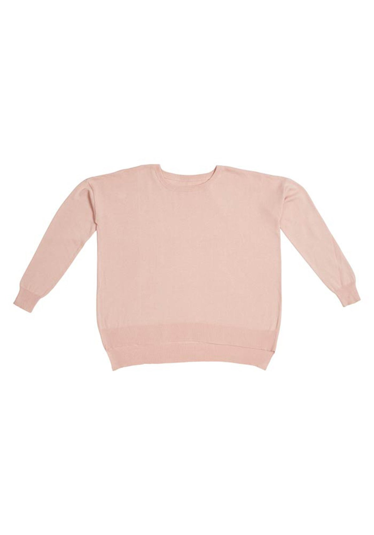 Emily Womens Knitted Jumper - Dusty Pink