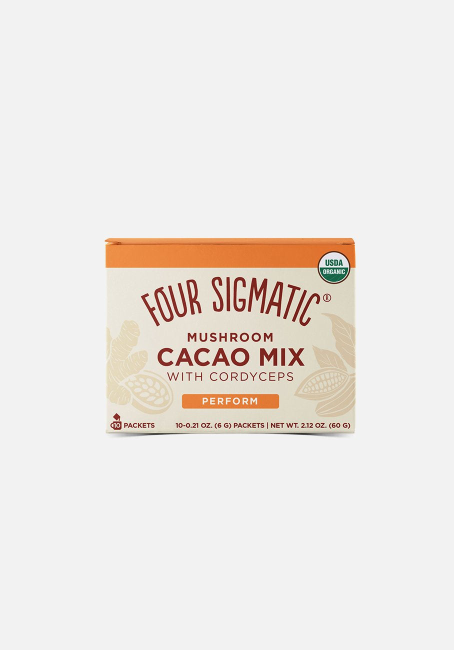 Four Sigmatic - Mushroom Cacao Mix With Cordyceps - 10 Packets