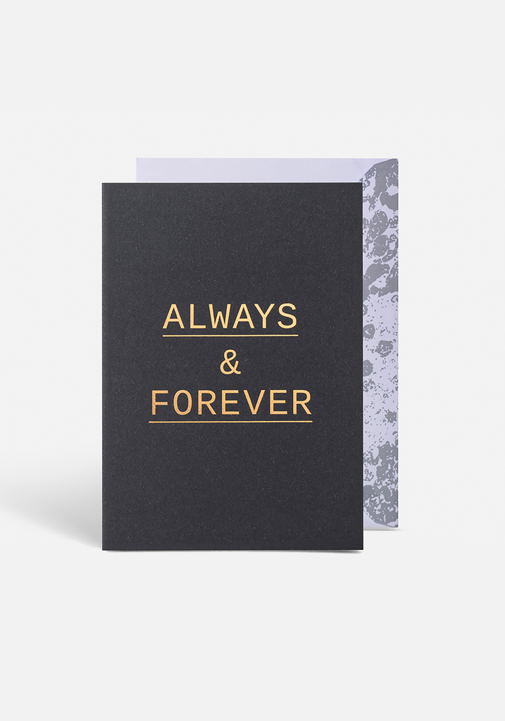 Always & Forever Greeting Card - MIANN & CO