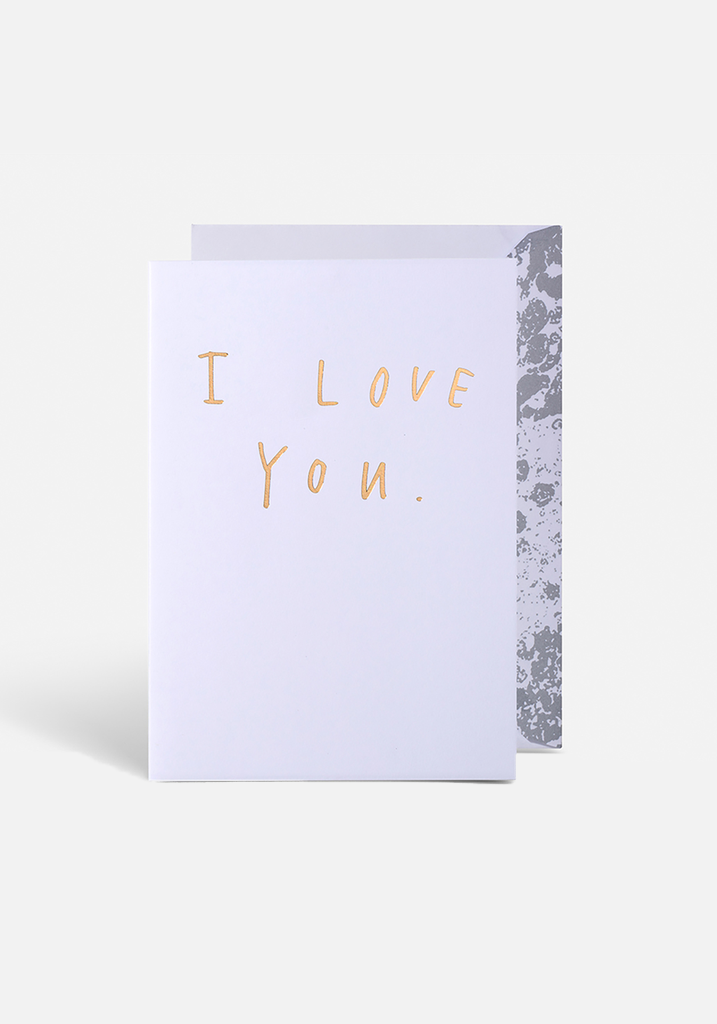 I Love You Greeting Card - MIANN & CO
