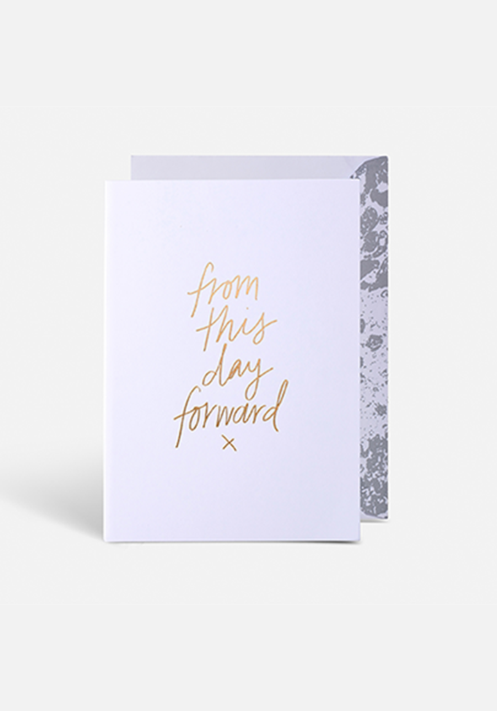 This Day Forward Greeting Card