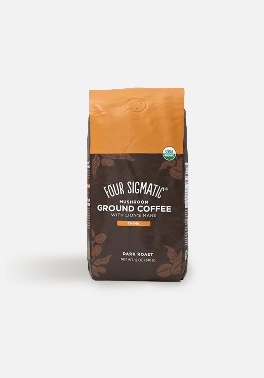 Four Sigmatic - Mushroom Ground Coffee Mix With Lions Mane - 340g