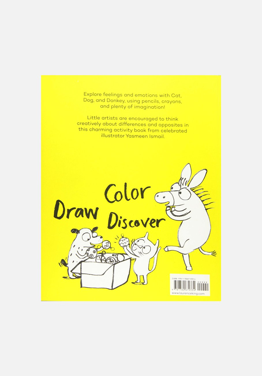 'Happy, Sad, Feeling Glad: Draw & Discover' by Yasmeen Ismail