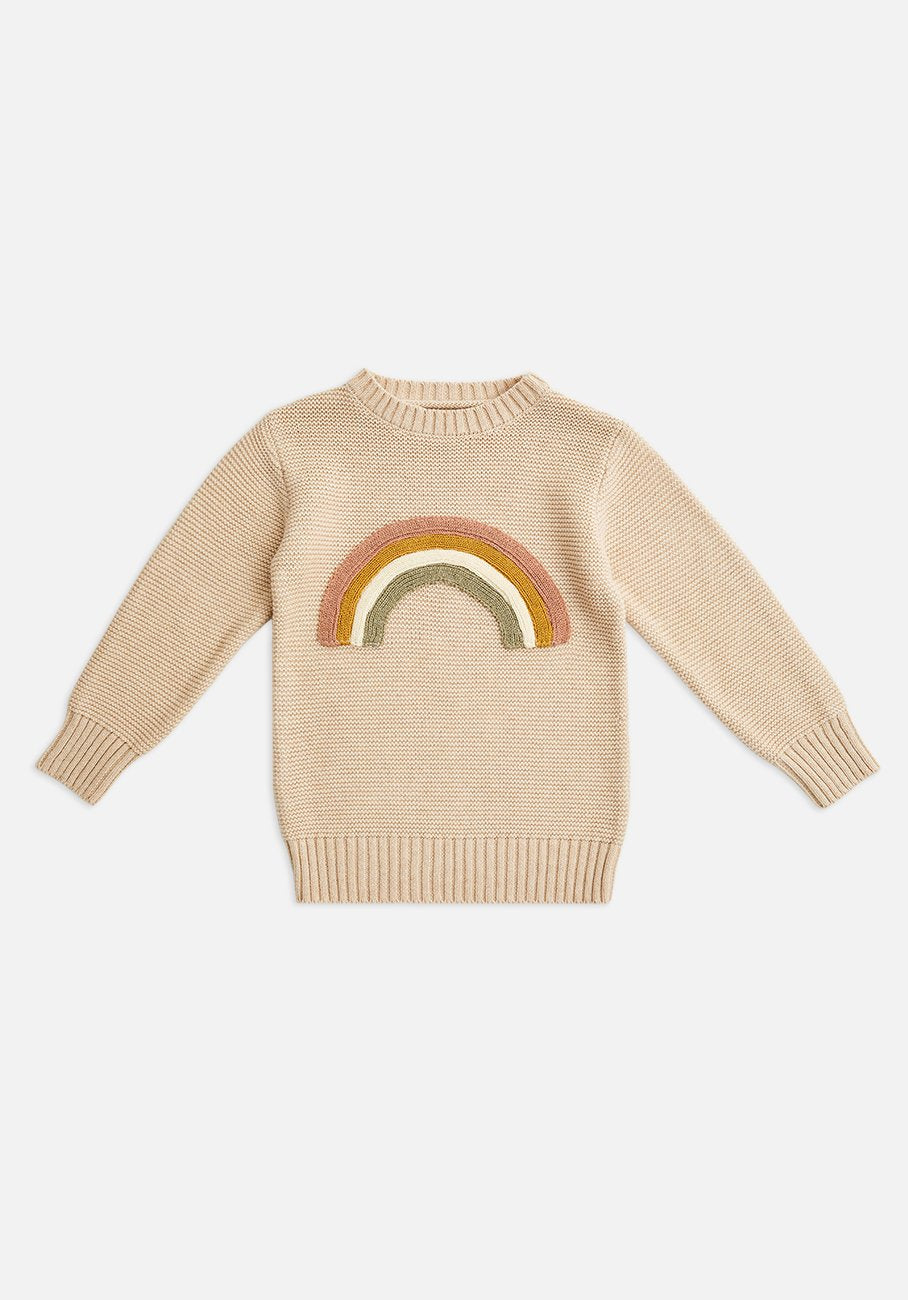 Miann & Co Kids - Rib Knit Jumper - Rainbow