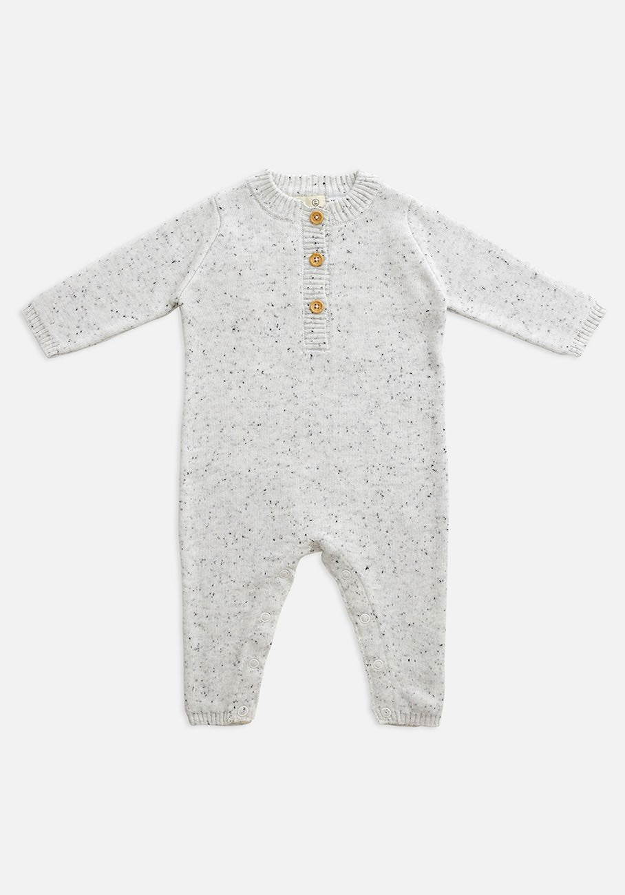 Babies grey jumpsuit