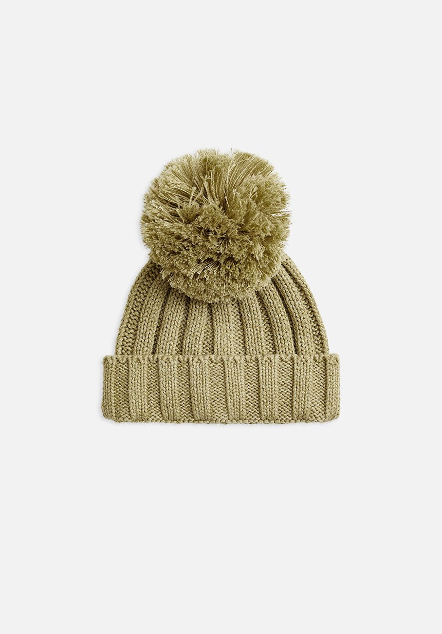Miann & Co - Rib Knit Beanie - Forest