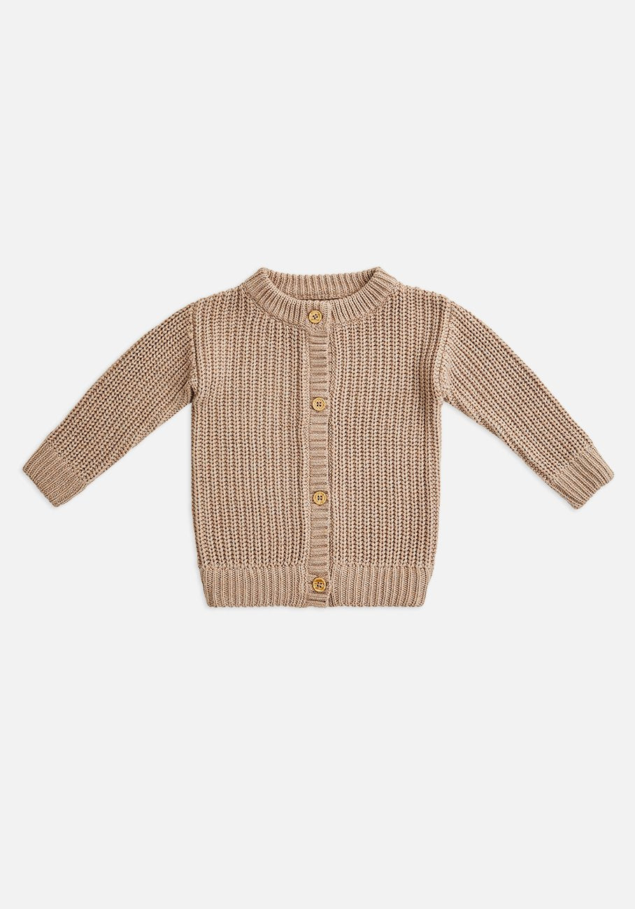Miann & Co Kids - Chunky Knitted Cardigan - Clove