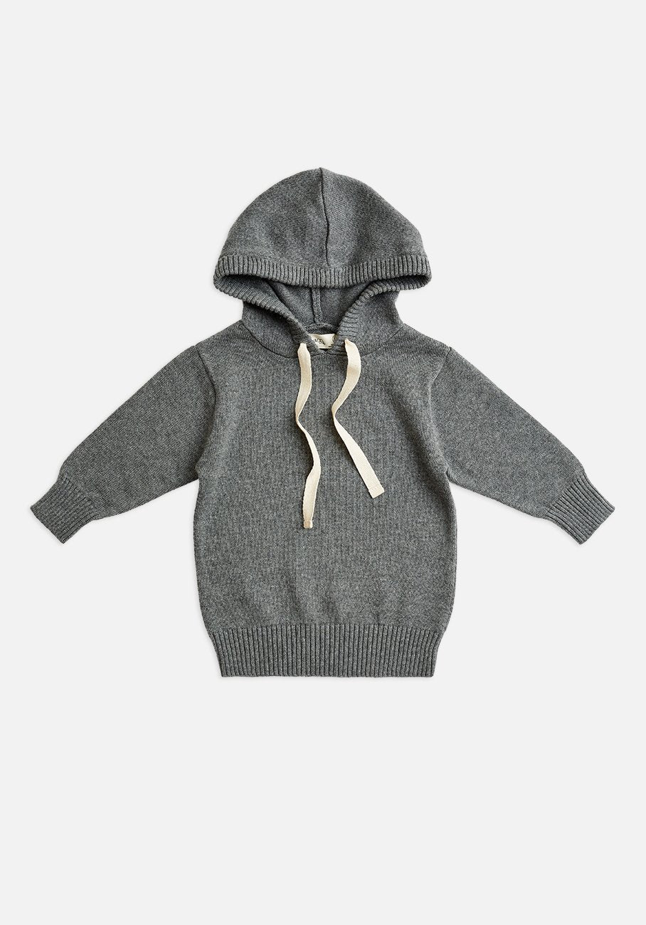 Miann & Co Baby - Knitted Hoodie - Stone