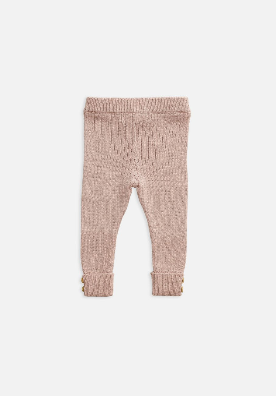 Miann & Co Kids - Texture Rib Leggings - Evening Sand