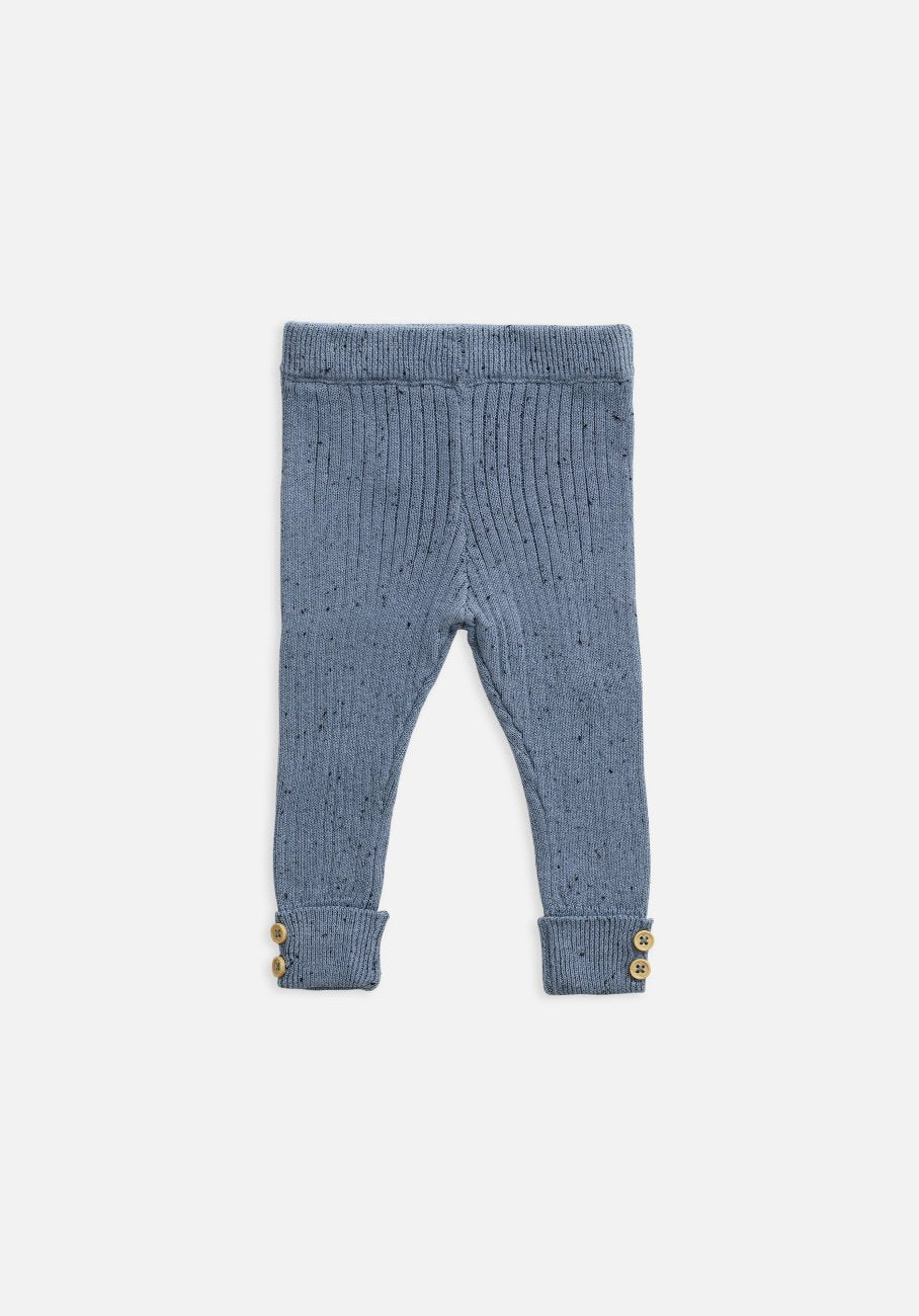 Miann & Co Kids - Texture Rib Legging - Slate