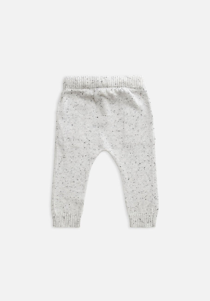 Miann & Co Kids - Knitted Pants - Speckled Grey Marle