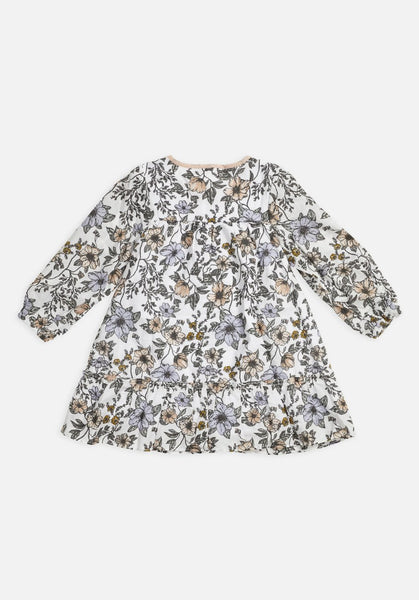 Miann & Co Kids - Long Sleeve Flowy Dress - Secret Garden Floral