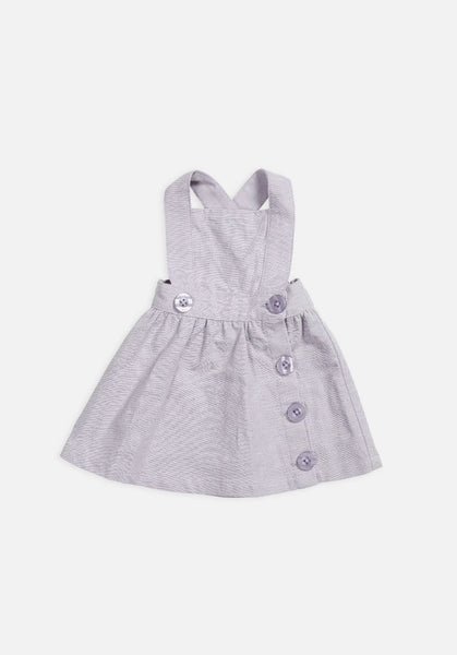 Miann & Co Kids – Pinafore – Lavender Grey