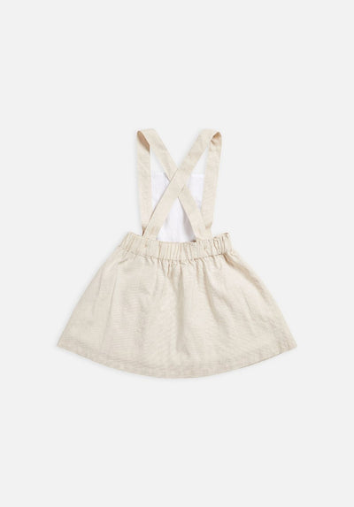 Miann & Co - Kids Pinafore - Natural Linen - MIANN & CO