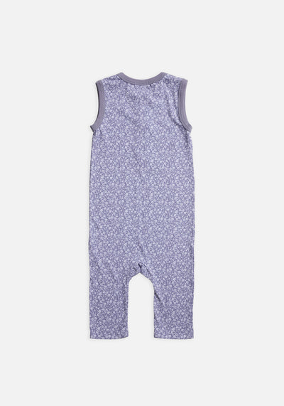 Miann & Co Kids - Sleeveless Suit - Lavender Grey Floral