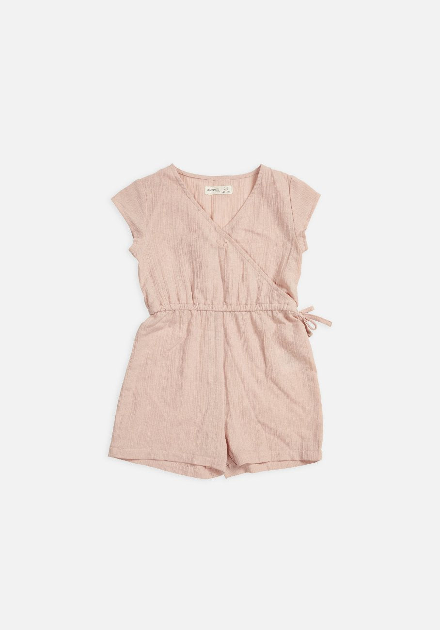 kids pink overall