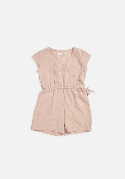 Miann & Co Kids - Wrap Short Overall - Spanish Villa
