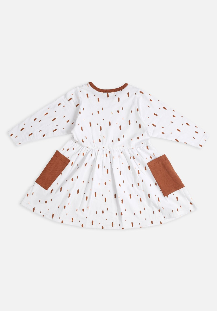Miann & Co Kids - Dress - Brush Stroke