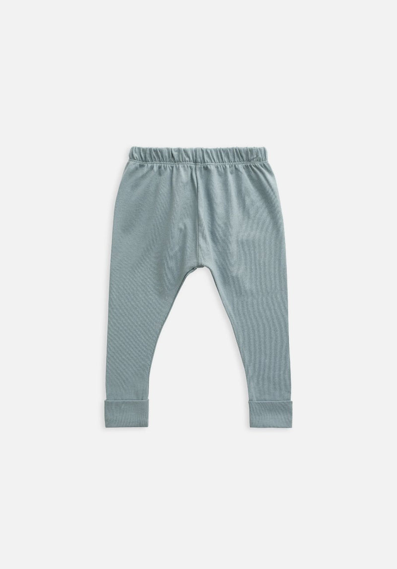 Miann & Co Kids - Organic Kids Cotton Basics - Legging - Slate