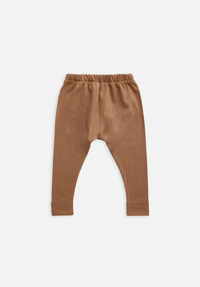 baby organic brown legging