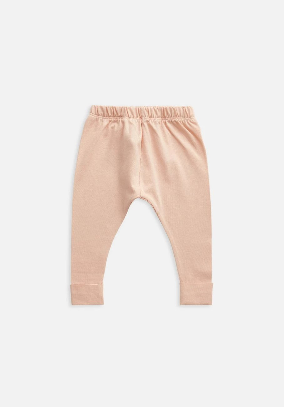 Miann & Co Kids - Organic Kids Cotton Basics - Legging - Evening Sand