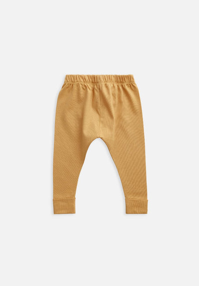 Miann & Co Kids - Organic Kids Cotton Basics - Legging - Clay