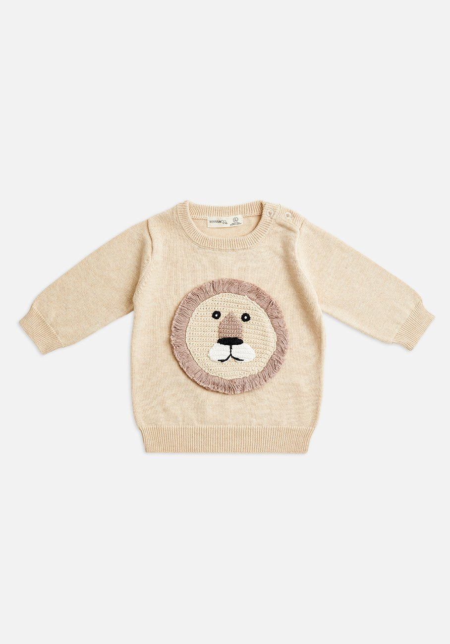 Miann & Co Kids - Knitted Jumper - Lion