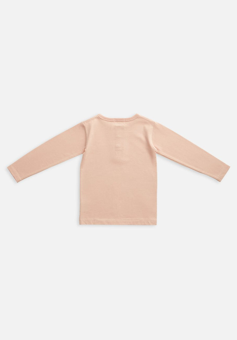 baby organic pink long sleeve t-shirt