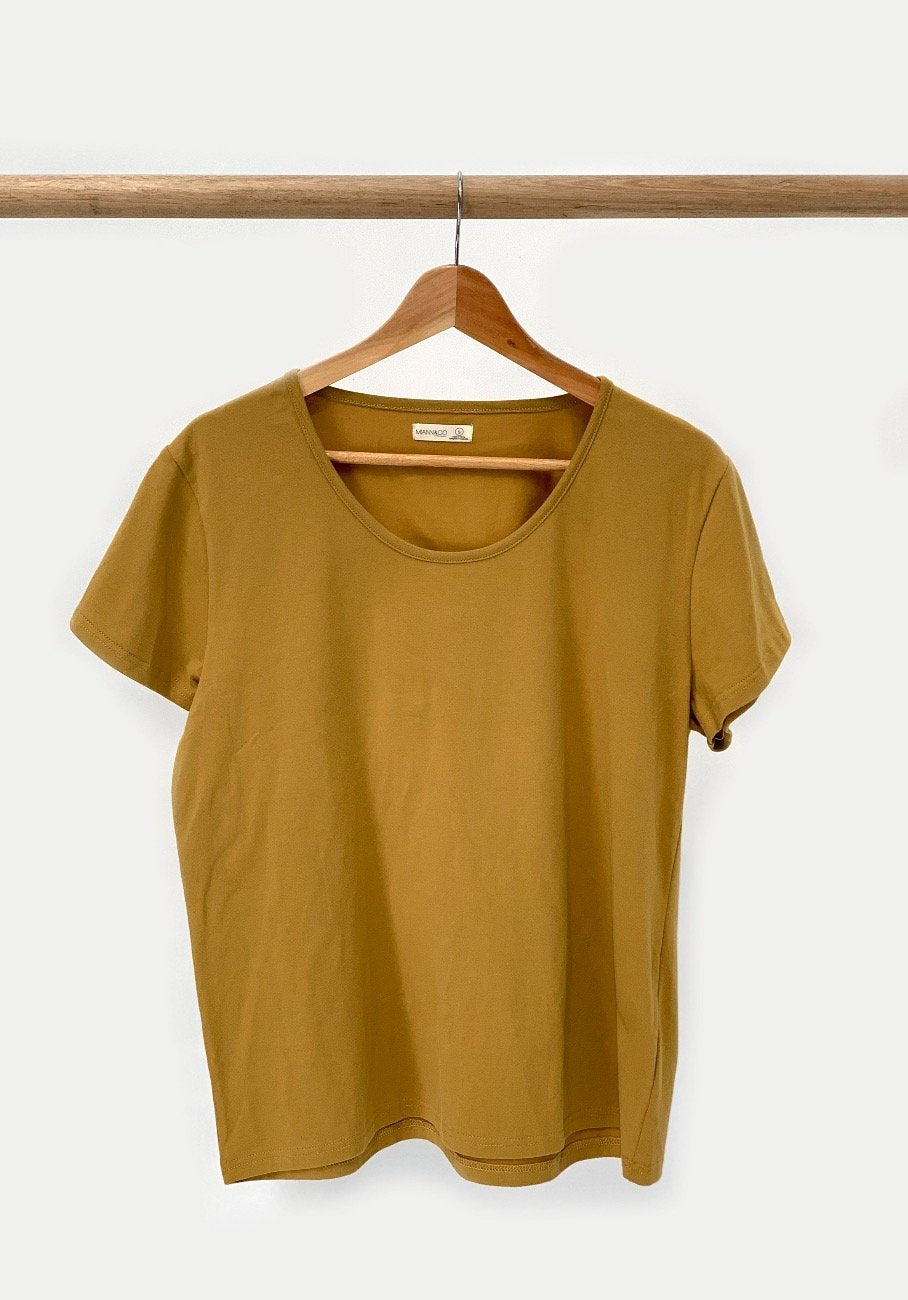 Miann & Co Womens - Lucy T-Shirt - Mustard