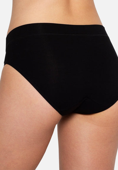 Modibodi - Maternity Brief Light-Moderate Absorbency - Black