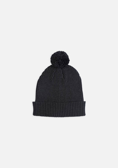 Miann & Co Womens - Mia Knit Beanie - Charcoal