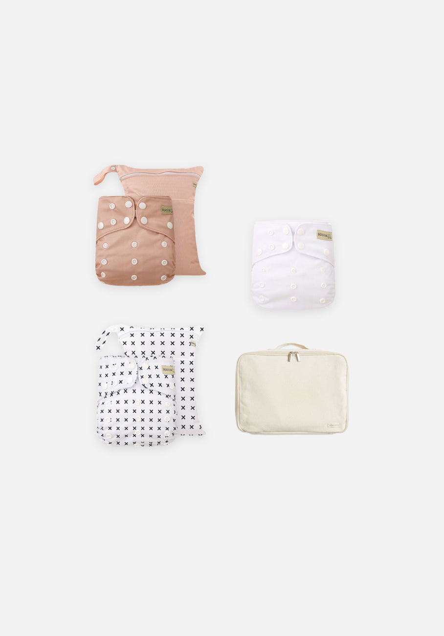 Miann & Co - Modern Cloth Nappies - Barley Essentials