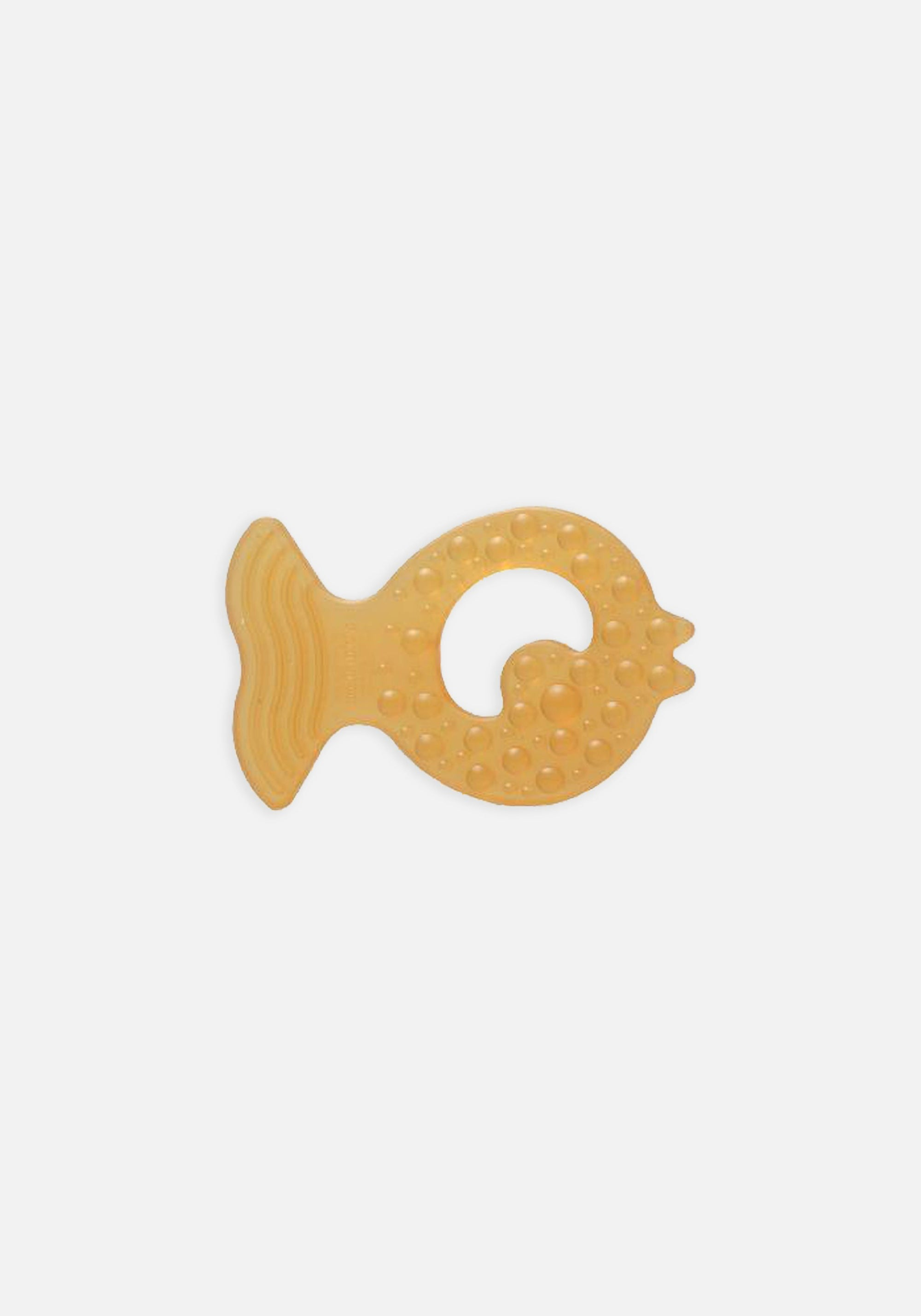 Natural Rubber Teether (Fish)