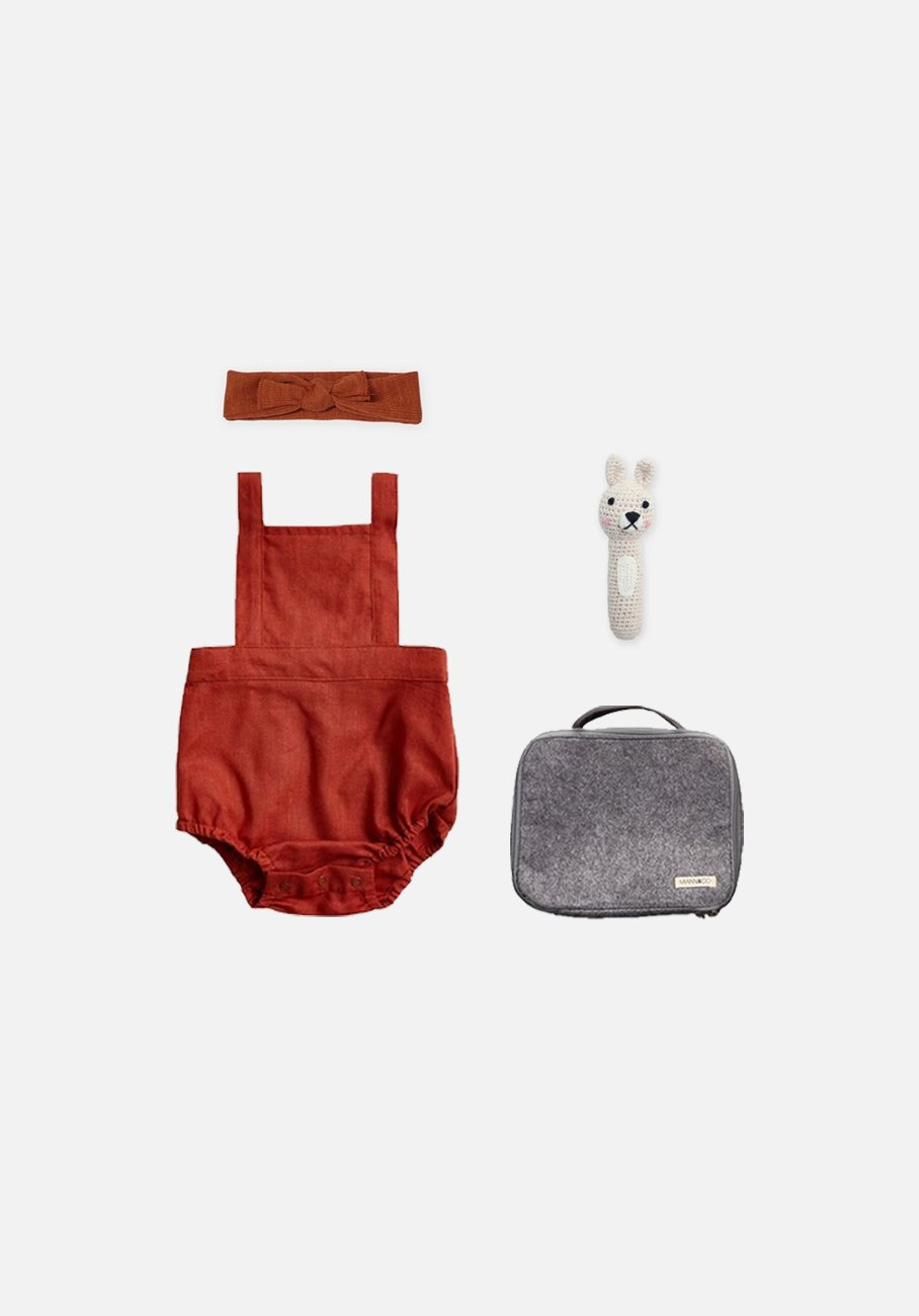 Miann & Co - Valentine's Baby Pack - Rosewood