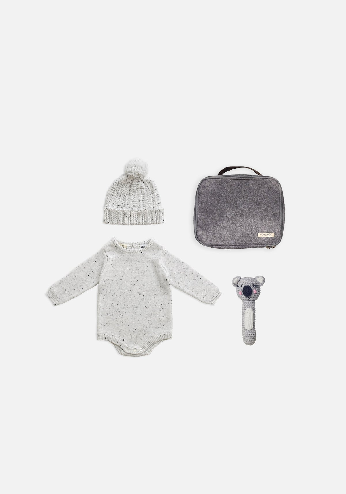 Essential Winter Knits Gift Pack - Grey Marle