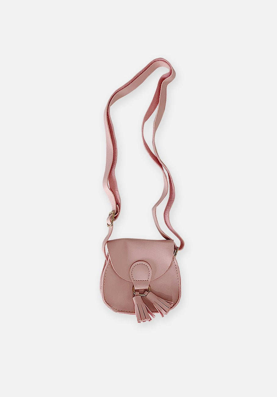 Miann & Co - Kids Tassel Handbag - Blossom