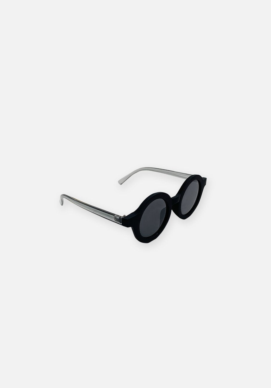 Miann & Co Kids - Round Sunglasses - Black Raven