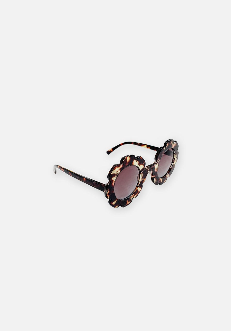 Miann & Co Kids - Flower Sunglasses - Golden Leopard