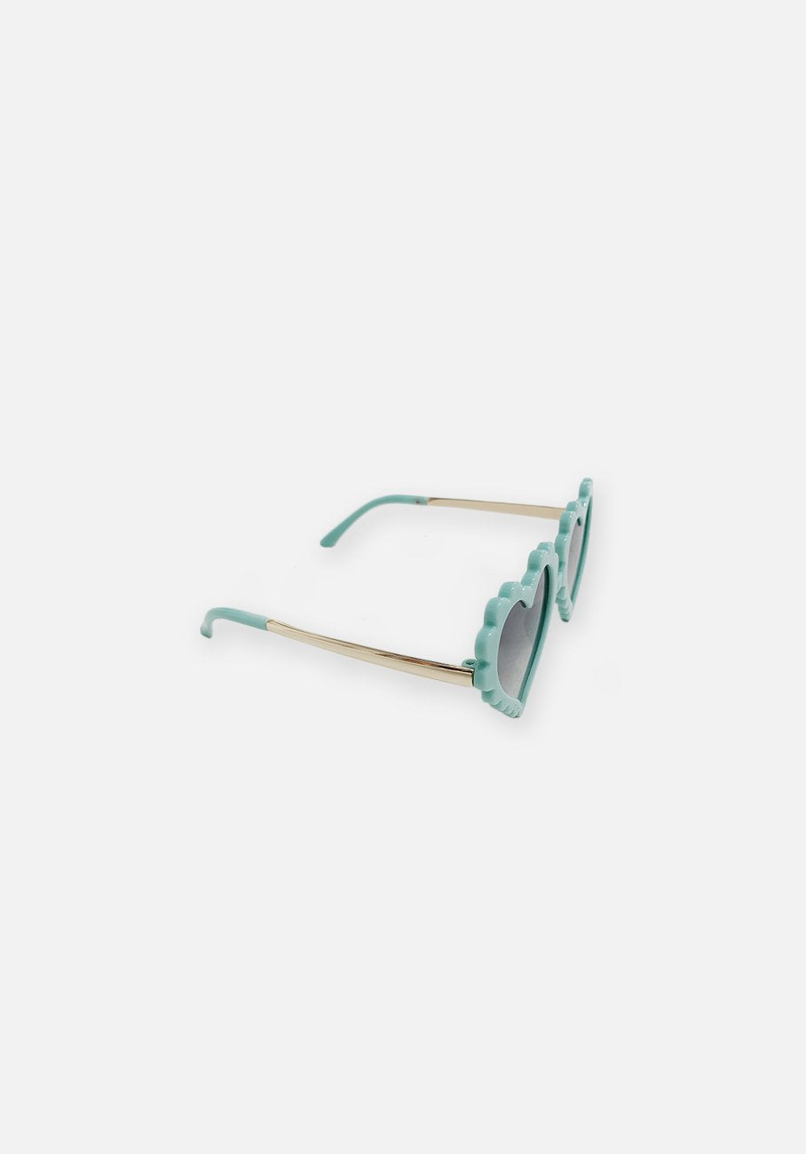 Miann & Co Kids - Heart Sunglasses - Sky Blue
