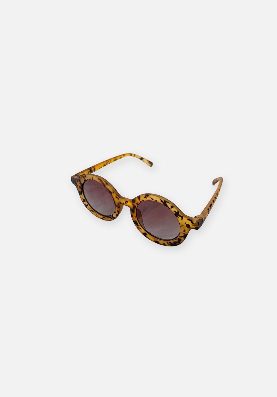 Miann & Co Kids - Round Sunglasses Hazel Leopard