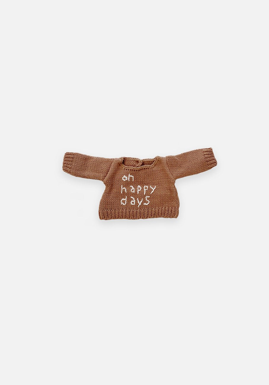 Large Softie Outfit - Oh, Happy Days Jumper