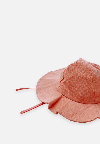 Cotton Sun Hat - Pink