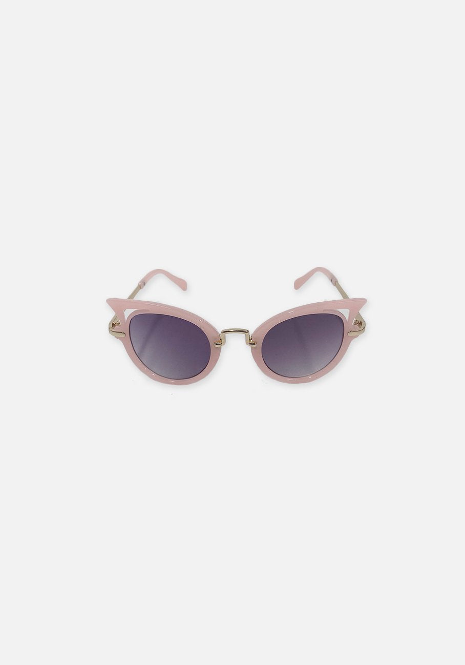 Miann & Co Kids - Retro Point Sunglasses - Pink Gold