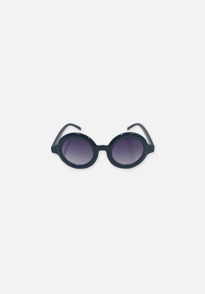 Miann & Co Kids - Round Sunglasses - Bubble Black