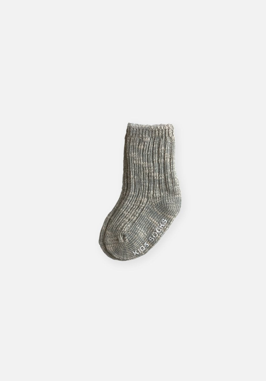 Grey Marle Socks - Kids