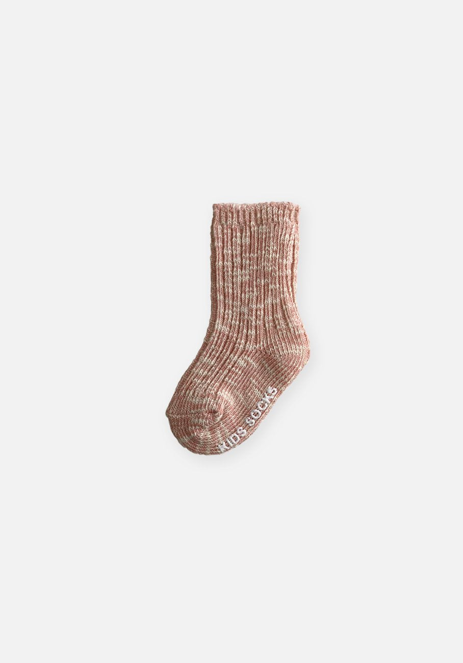 Pink Marle Socks - Kids