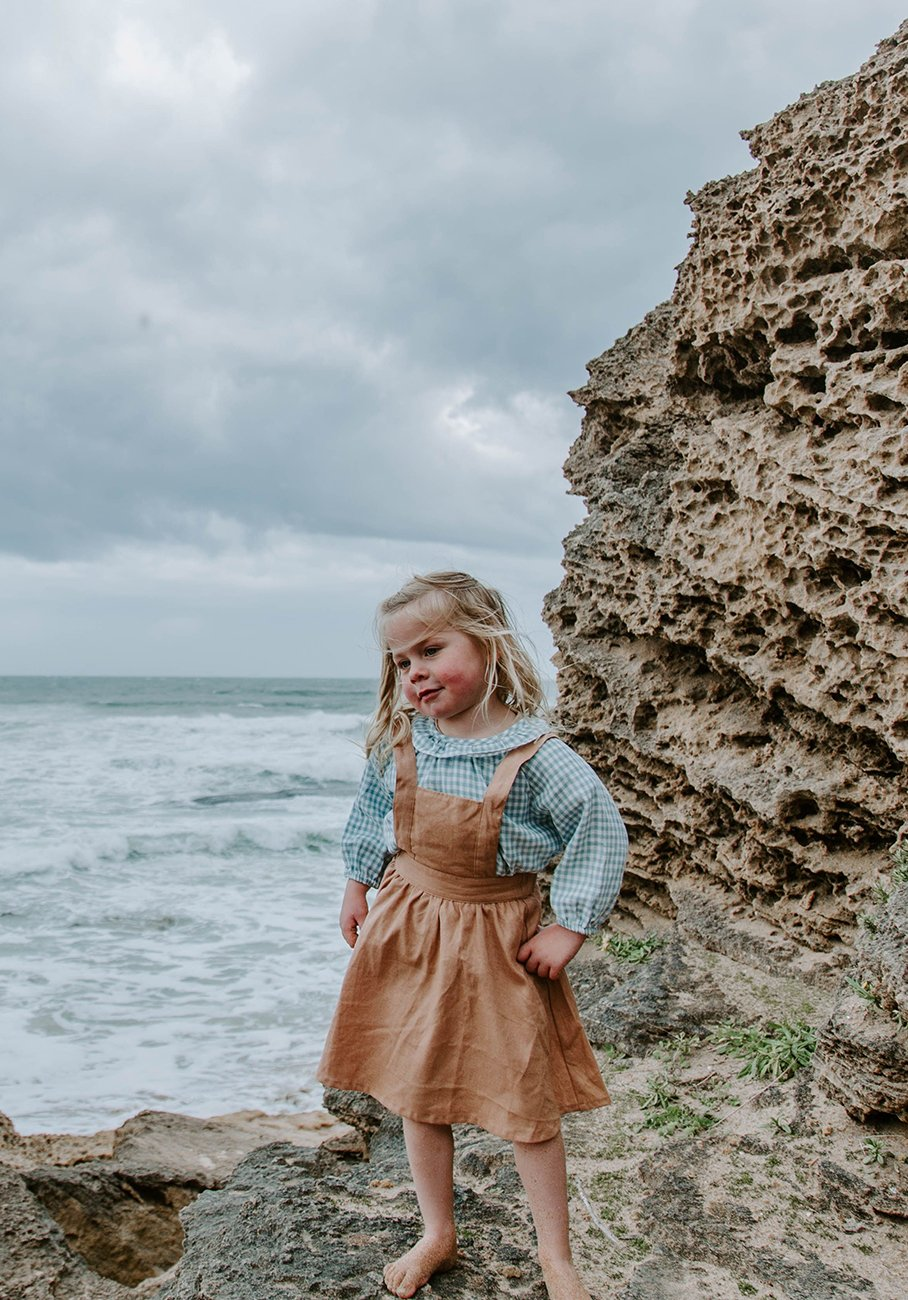 Miann & Co Kids - Pinafore - Maple Sugar