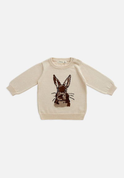 Miann & Co Baby - Knit Jumper - Coco Bunny